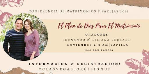 Conferencia De Matrimonios y Parejas 2019