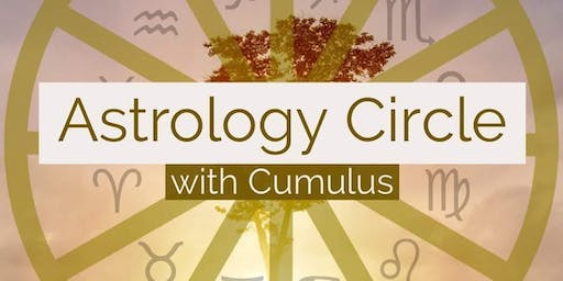 Astrology Circle with Cumulus