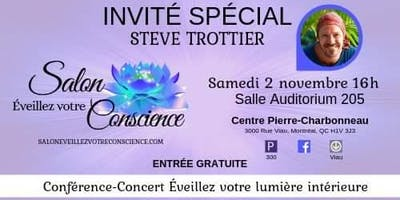 Conférence-Concert Éveillez votre lumière intérieure