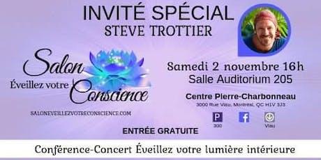 Conférence-Concert Éveillez votre lumière intérieure billets