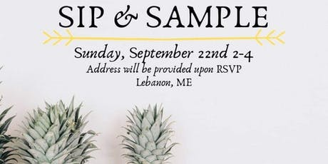 Sip & Sample tickets