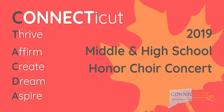 2019 CT-ACDA Honor Choir Concert tickets
