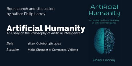"Book Launch of ""Artificial Humanity. An Essay on the Philosophy of AI"" tickets"
