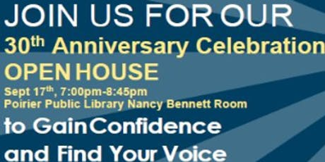 Crystal Clear Speakers - 30th Anniversary Open House tickets