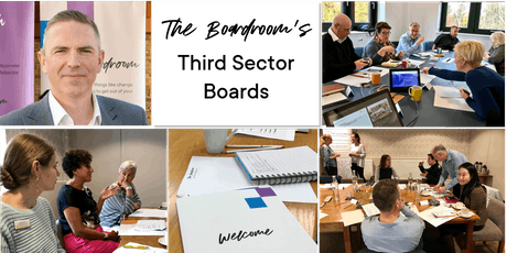 Free Taster of The Boardroom's THIRD SECTOR BOARDS tickets
