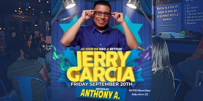 Jerry Garcia LIVE Stand Up Comedy at Jokesters 22