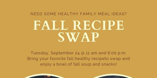 Fall Recipe Swap