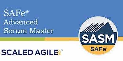Online SAFe® Advanced Scrum Master with SASM Cert
