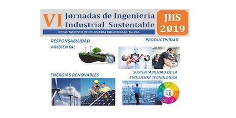 Jornadas de Ingeniería Industrial Sustentable 2019 entradas