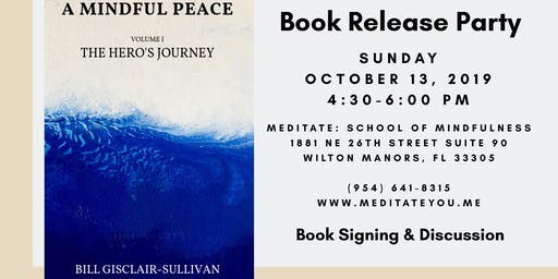Book Release Party: A Mindful Peace by Bill Gisclair-Sullivan