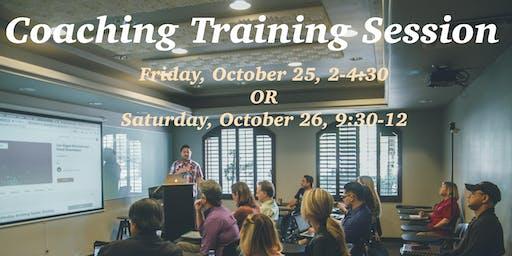 Love INC Coaching Training Session #1