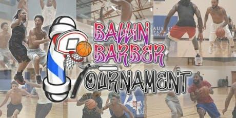 BALLIN BARBER'S BASKETBALL TOURNAMENT tickets