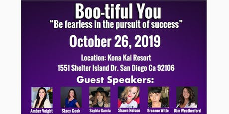 BOO-tiful YOU- Be fearless in the pursuit of success tickets