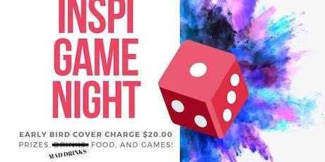 Annual Inspi-GameNight tickets