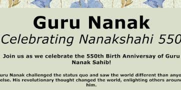 Guru Nanak - Celebrating Nanakshahi 550
