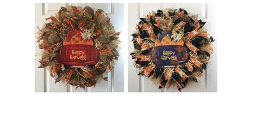 Fall Truck Wreath (2019-10-22 starts at 6:30 PM)