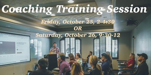 Love INC Coaching Training Session #2