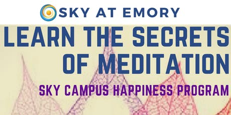 SKY Campus Happiness Retreat tickets