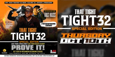 Special Edition Ras Kass #Tight32 Artist & Producer Challenge tickets