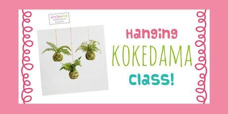 Kokedama Moss Ball Class! tickets