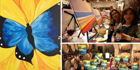 Blue Butterfly Painting Event at Blue Door Winery tickets