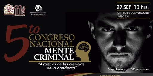 5to.Congreso Nacional MENTE CRIMINAL