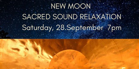 New Moon Sacred Sound Relaxation tickets