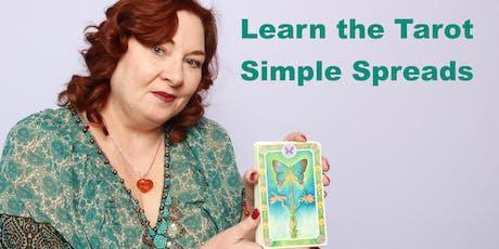 Learn the Tarot- Simple Tarot Spreads tickets