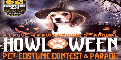 4th Annual  Pet Halloween Costume Contest and Parade
