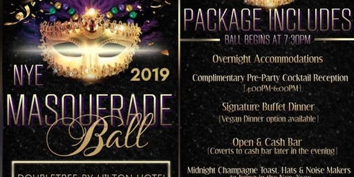 New Year's Eve 2019 Goddess Getaway's and Events Masquerade Ball