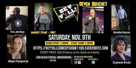 Copy of Hey Y'all Comedy Show tickets