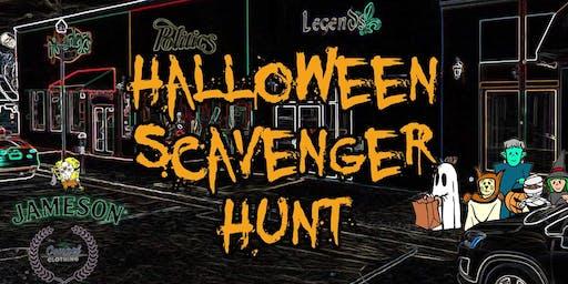 Legends Halloween Scavenger Hunt