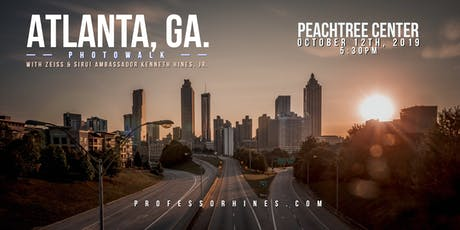 Cityscapes ATL | Photowalk with ZEISS & SIRUI Ambassador Kenneth Hines, Jr. tickets