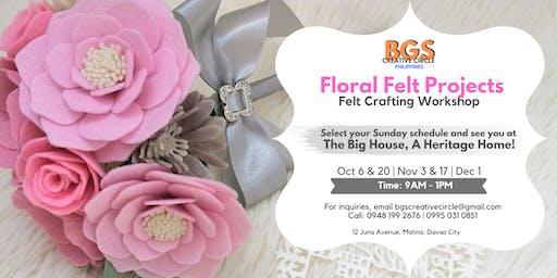 Floral Felt Projects: Felt Crafting Workshop