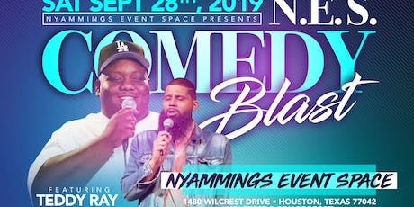N.E.S Comedy Blast featuring Teddy Ray tickets
