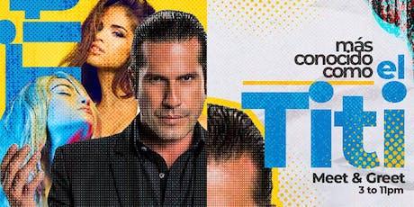 """BANDA BRUNCH w/GREGORIO PERNIA """"EL TiTi"""" boletos"""