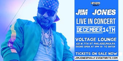 Jim Jones Philly Concert Presented by HipHopSince1987