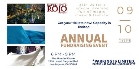 Expediente Rojo Project. Annual Fundraising Event tickets