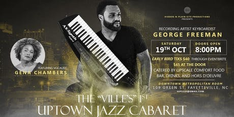 The Uptown Jazz Cabaret tickets