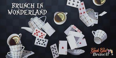 Geek Girl Brunch: Alice in Wonderland Tea Party