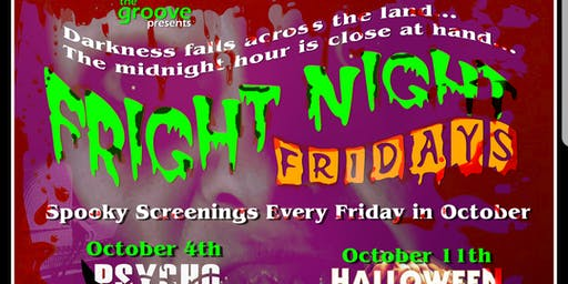 Fright Night Friday Movie Screening