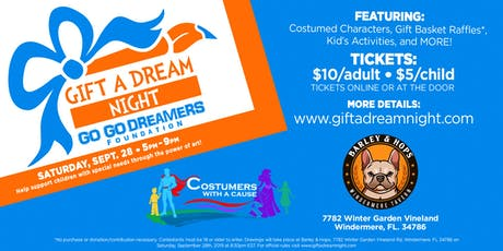 Gift a Dream Night tickets