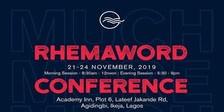 Rhemaword Conference 2019 tickets