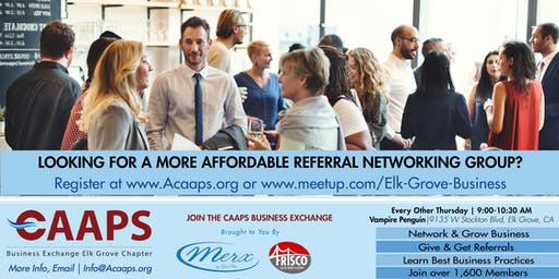 Elk Grove Business Networking (Thursday Mornings)