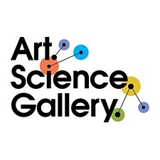Art.Science.Gallery. logo