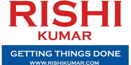 Rakhi and Nitesh invite you to our home to meet Rishi Kumar tickets