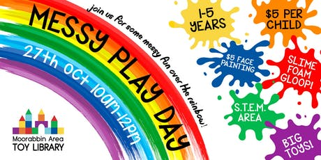 Messy Play Day 2019! tickets