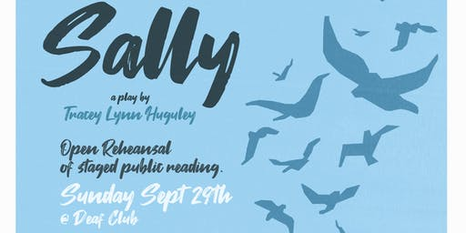 SALLY, a play in development, Public Reading and Rehearsal