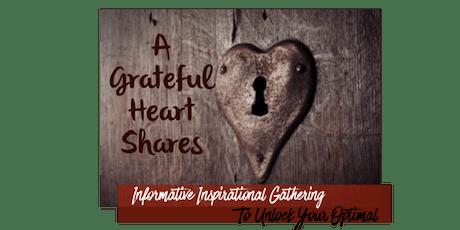 A Grateful Heart Shares tickets