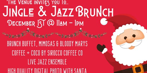 Jingle & Jazz Brunch with Santa